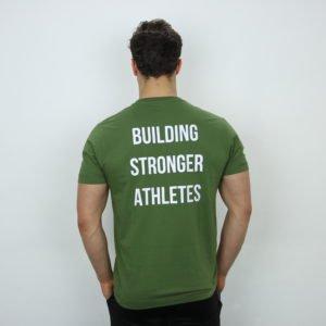 Mannen t-shirt groen